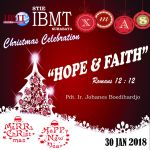 Stie IBMT Christmas Celebration