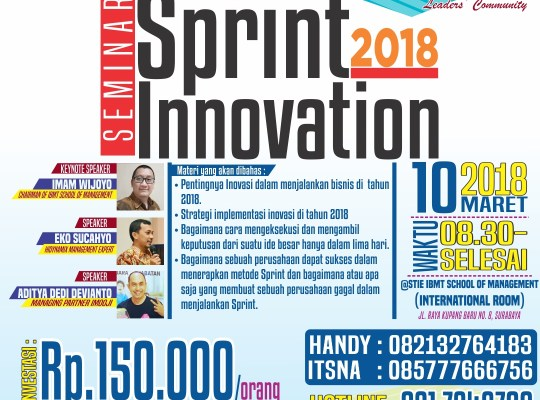 SPRINT INNOVATION 2018