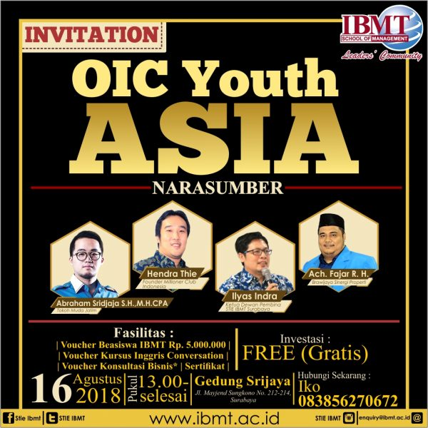OIC Youth Asia IG