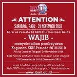 Memo KKN Periode 2018/2019 Pelaksanaan & Pembayaran