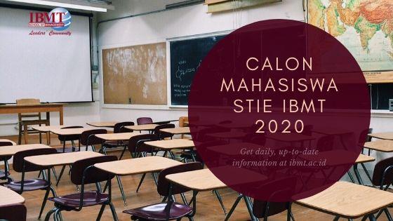 banner blog pengumuman Calon Mahasiswa STIE IBMT 2020
