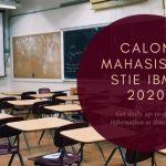 Calon Mahasiswa STIE IBMT 2020