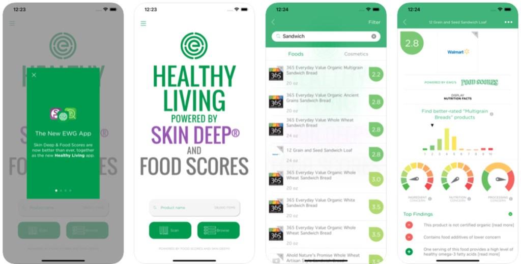 healthy living smáforrit
