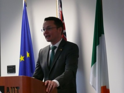 Minister of State for Tourism and Sport, Patrick O'Donovan, TD.