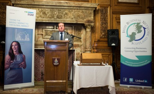 The Irish Business Network Scotland (IBNS) is a not-for-profit organisation that connects high level business people from Ireland and Scotland to identify and explore new collaborative business opportunities.