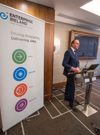 Enterprise Ireland Trade Mission to Scotland - picture shows Joe McHugh TD, Ireland Minister of Foreign Affairs and Trade - picture by Donald MacLeod - 08.11.16 - 07702 319 738 - clanmacleod@btinternet.com - www.donald-macleod.com