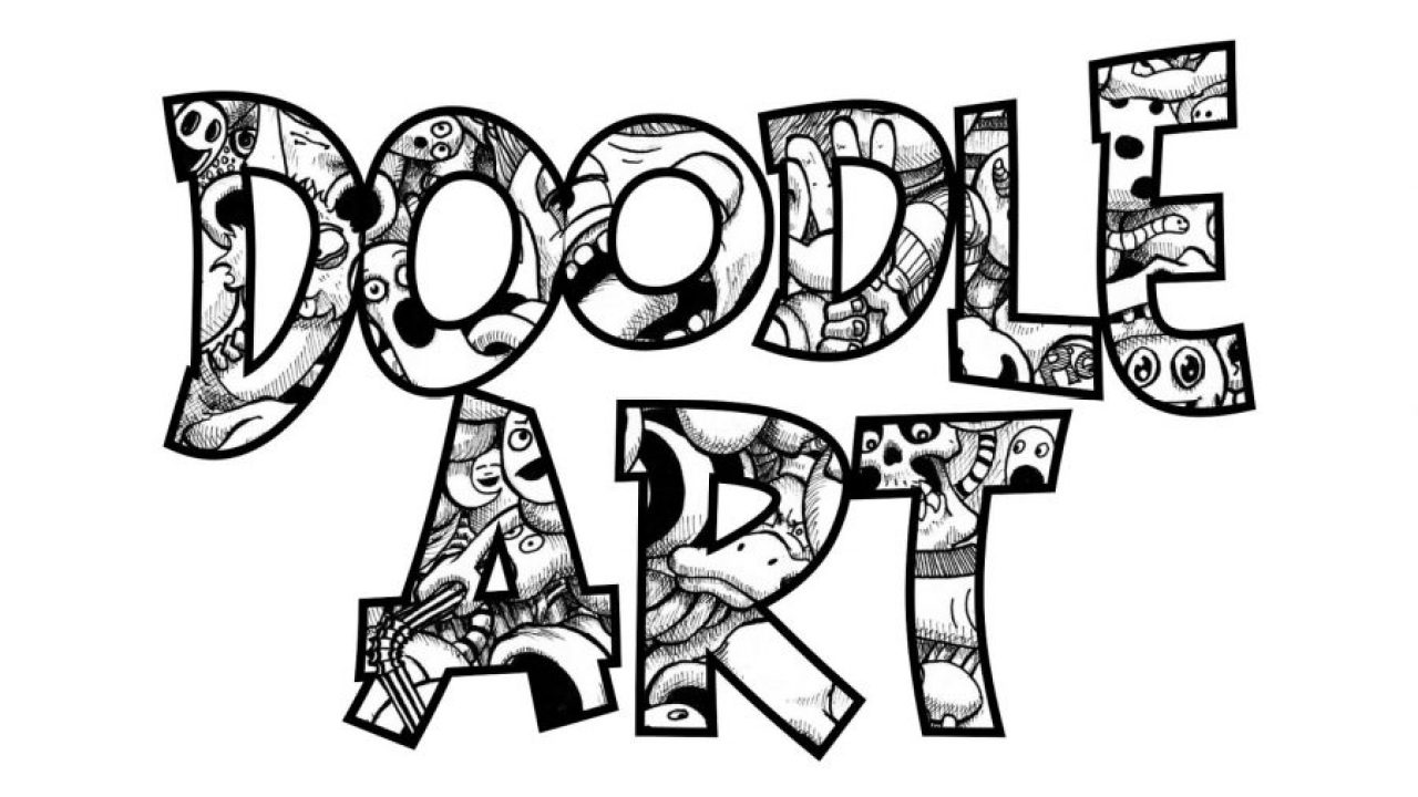 √ 200 Gambar Doodle Nama Name Simpel