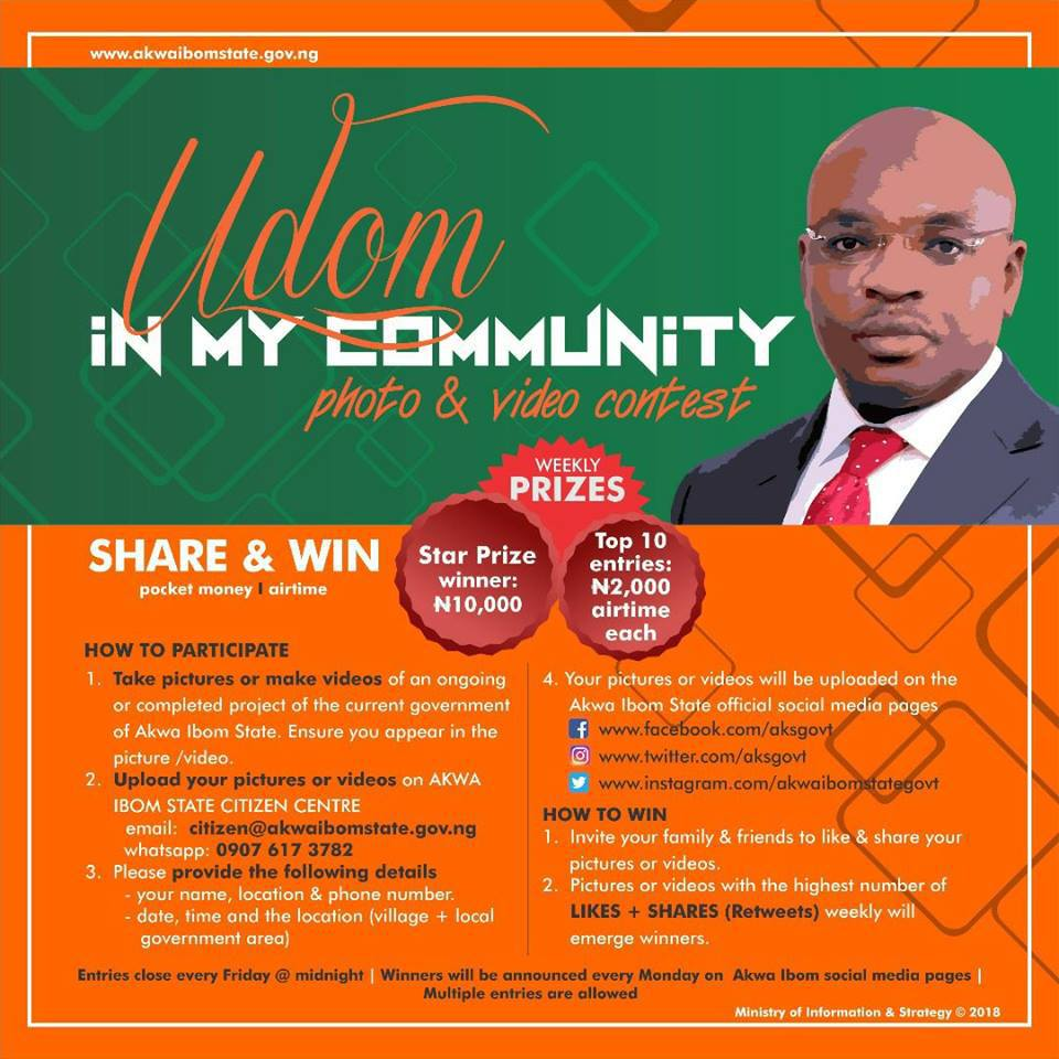 JOIN UDOM IN MY COMMUNITY CONTEST