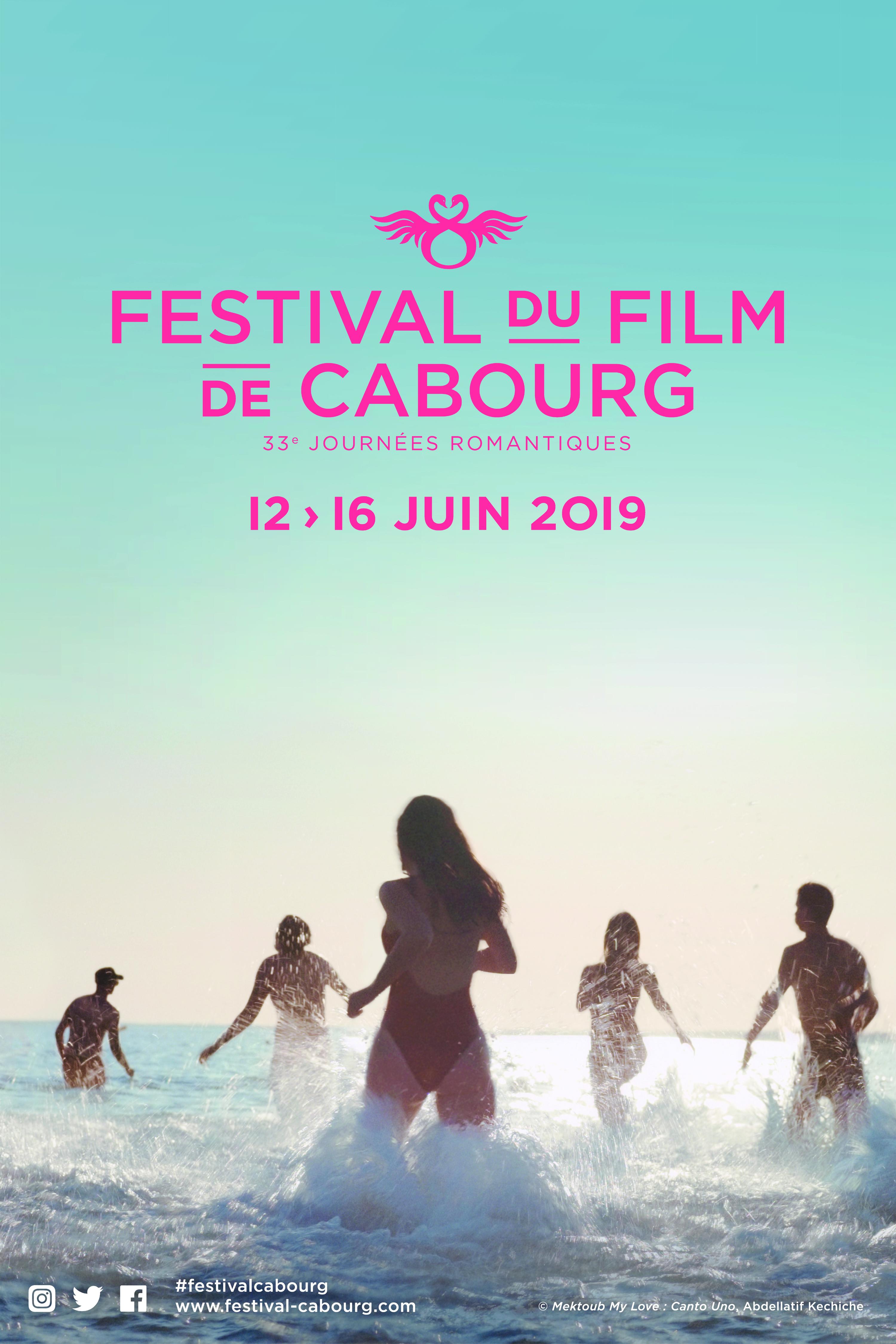 Affiche des 33e Journées romantiques du Festival du Film de Cabourg - JPG HD