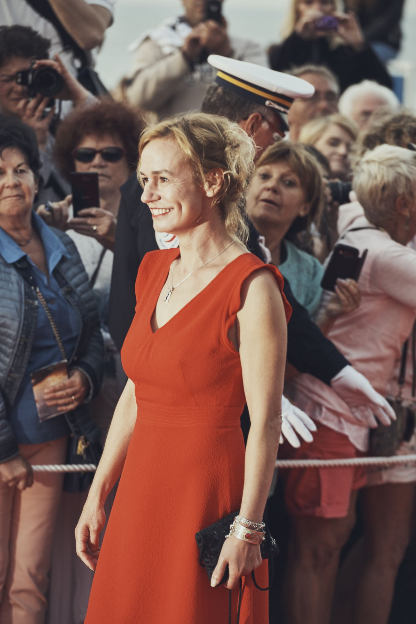 Sandrine Bonnaire © Julien Lienard - Festival de Cabourg 2017