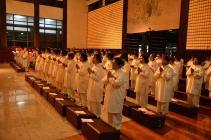 Retiro de ordenación de corta duración -Ceremonia de Arrepentimiento