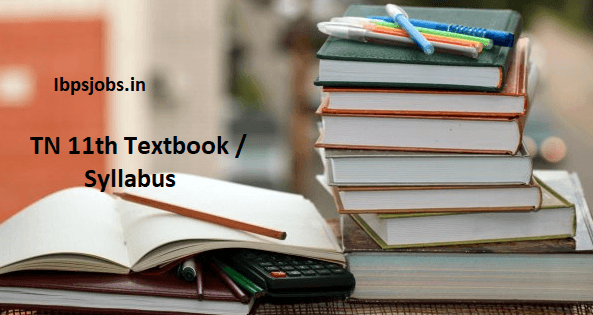 Tamil Nadu 11th New Syllabus 2019 – 2020 Download TN 11