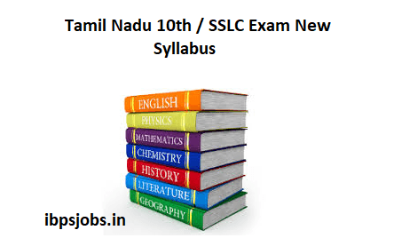 Tamil Nadu 10th New Syllabus