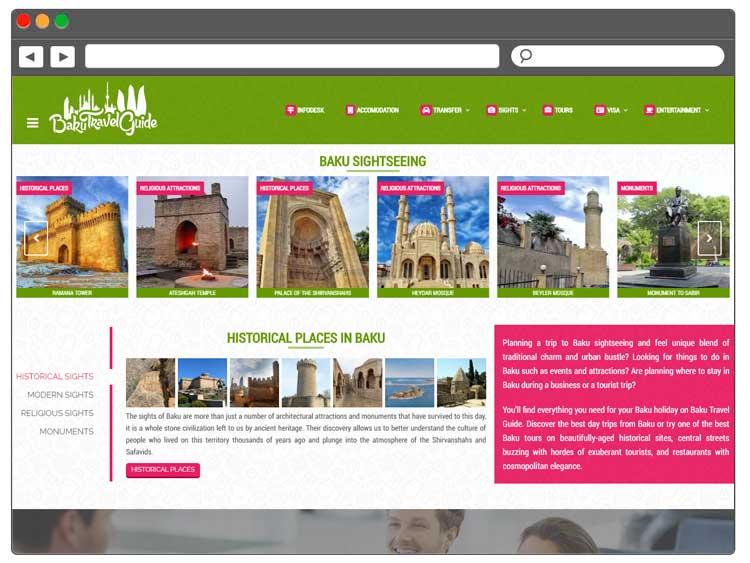 Разработка туристического портала