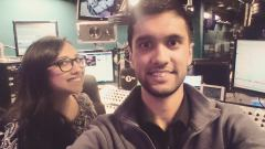 Ibrahim and Nadia Ali on BBC Asian Network