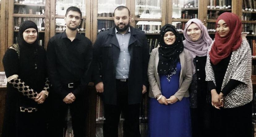 Shahida Rahman, Ibrahim Rahman, Mizan the Poet, Tasmia Salim, Halima Khanom and Amaal Said