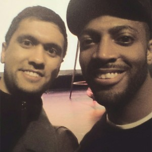 Ibrahim Rahman and Omar Regan