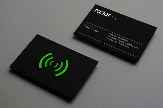 creative and minimalist business card designs