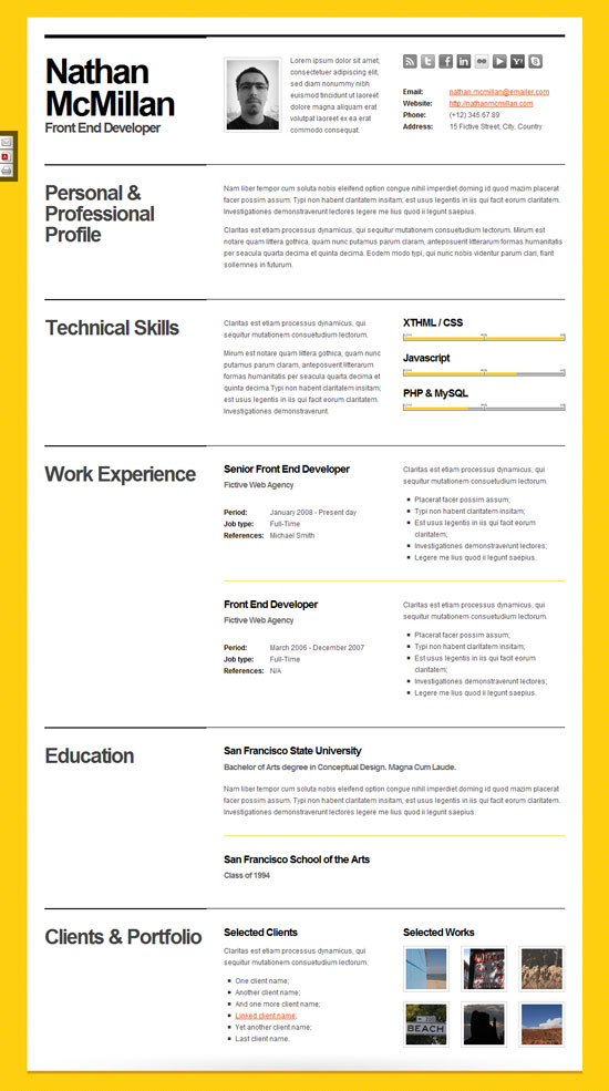 best resume templates bold resume template min jpg