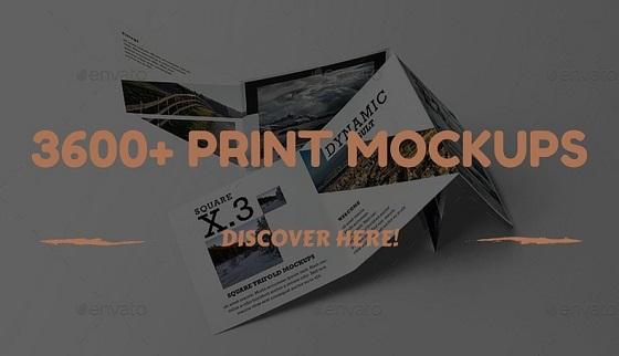 Maquetas de impresión premium