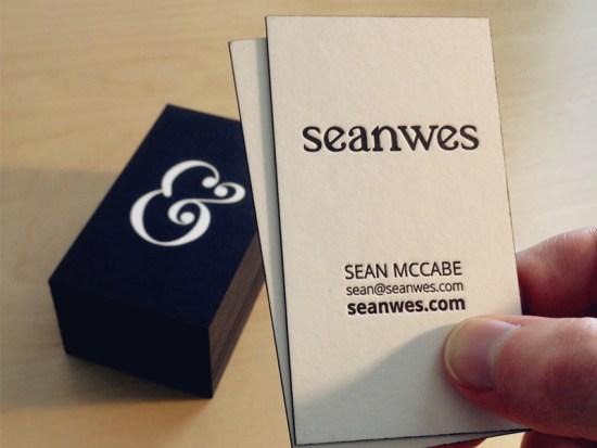 Sean McCabe's Business Card