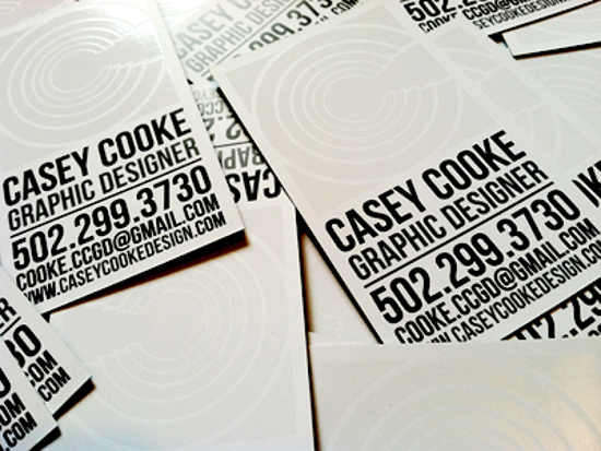 Casey Cooke's Business Card