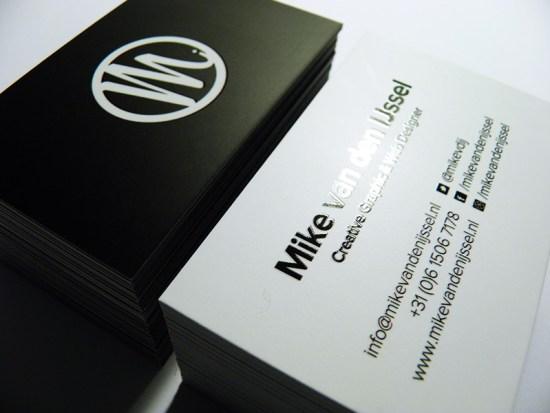 Mike van den IJssel's Business Card