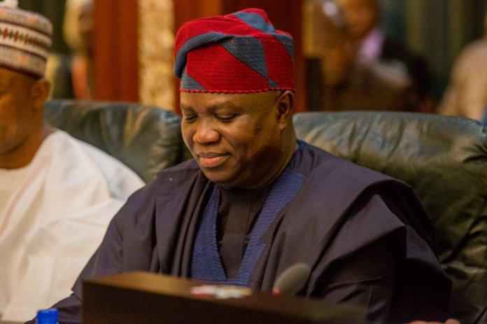 Ambode appeals high court ruling Striking out his suit