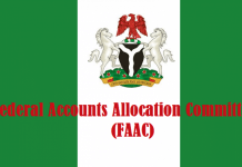FAAC:  FG, states, LGs share N680 billion