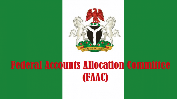 FAAC disburse N2.054trn to FG in Q3'20, highest in 2020