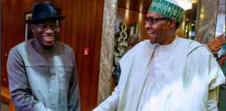 Video: Jonathan speaks after closed-door meeting with Buhari in Abuja