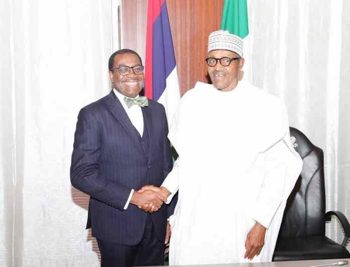 Buhari congratulates AfDB President, Adesina on re-election