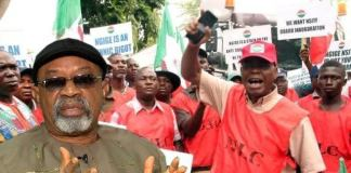 JAF, ASCAB protest against suspension of strike by NLC, TUC