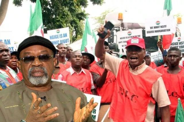 Image result for Kokori to Buhari: Be vigilante, watchful, your government is being run by a cabal