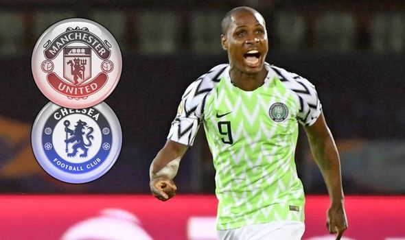 Image result for Odion Ighalo in Manchester United squad to face Chelsea