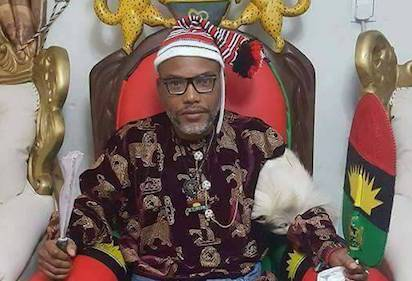 Don't betray your people to please Aso Rock, Nnamdi Kanu warns SE Govs.