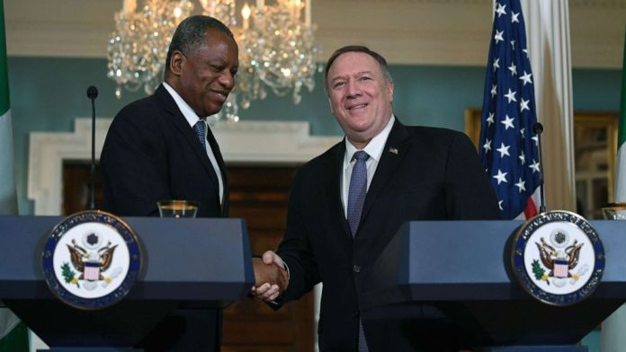 Onyeama and Pompeo