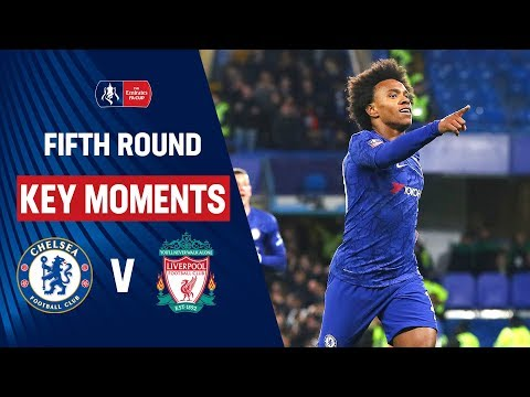 Image result for Chelsea vs Liverpool | Key Moments | Fifth Round | Emirates FA Cup 19/20