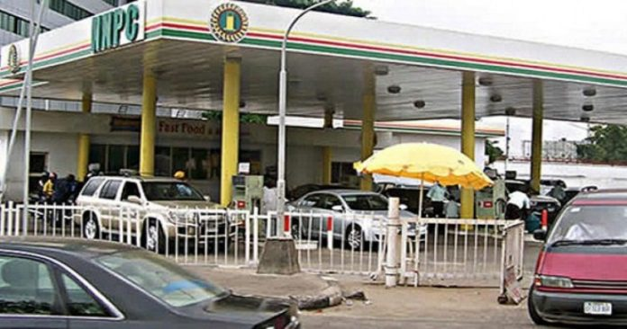 Image result for nnpc filling station pump price