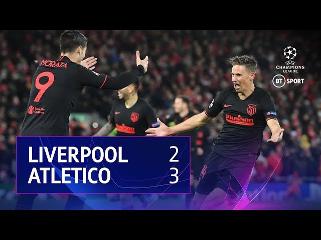 Image result for UEFA Champions League | Liverpool v A Madrid | Highlights