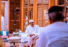 Buhari, Security Heads meet in Aso Rock