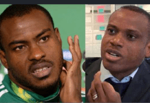 I've no quarrel with Sunday Oliseh - Vincent Enyeama