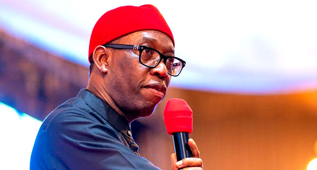 Breaking: Gov. Ifeanyi Okowa, wife, daughter test negative for COVID-19
