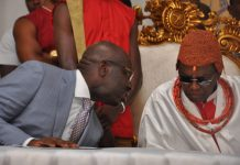 Oba of Benin orders