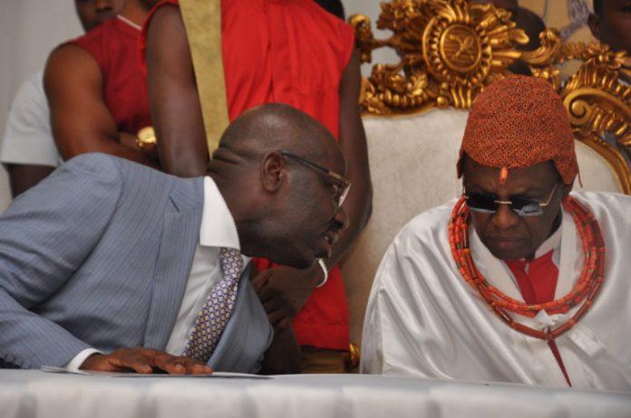 COVID-19: Oba of Benin orders Gov Obaseki to effect total lockdown now