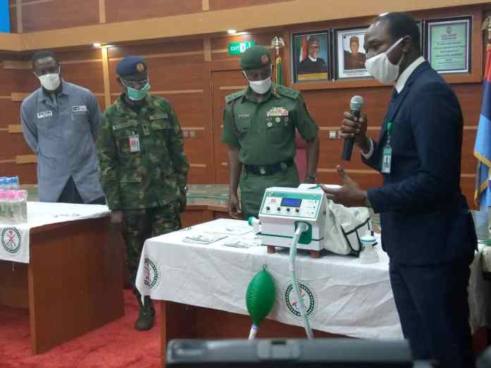 COVID 19: Nigeria Military Produces Ventilators, PPEs, others to curtail Pandemic