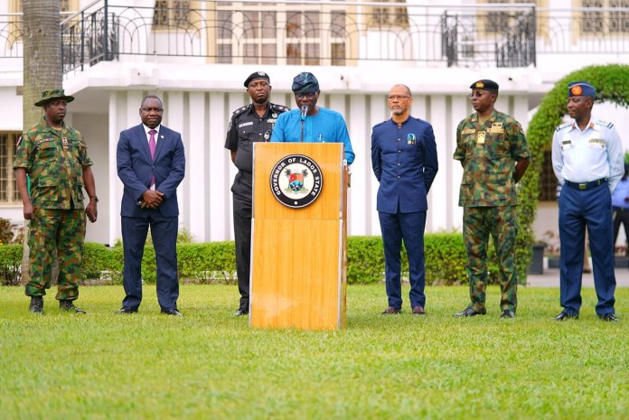 Hoodlums Attack: Sanwo-Olu signs executive order to rebuild Lagos