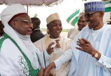 I'm very pleased you came out healthy, Buhari to Emir of Daura