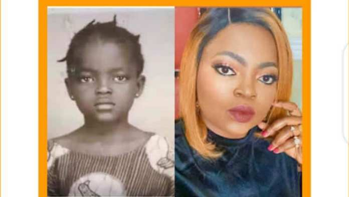 PHOTO STORY: Funke Akindele shares epic throwback picture