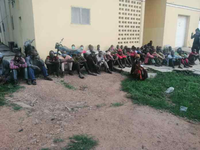 NSCDC arrests 70 travellers flouting interstate movement restrictions